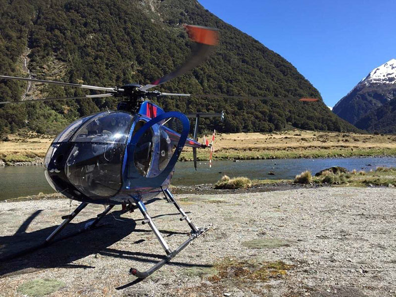 backcountry Heli Commercial flights